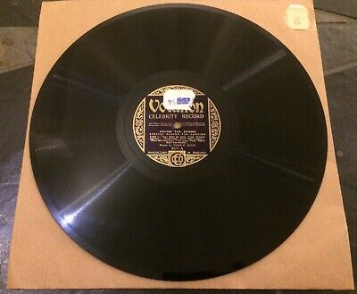 £5 • Buy 78RPM: Celebrity Record. Round The Shows. Charlie Kunz. Vocalion Records 10  517