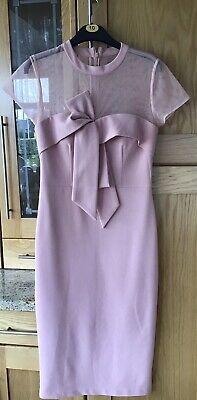 £25 • Buy Pink Dress Size 10 Wedding,christening,special Outing From TKMAX