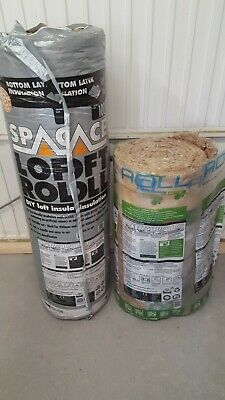 £20 • Buy Knauf Space Ecose Loft Insulation 2 Rolls 100mm 13.83sqm Total Top Up Insulation