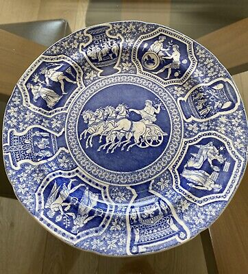 £90 • Buy Spode Fine Pearlware Blue And White Pottery Plate C1810