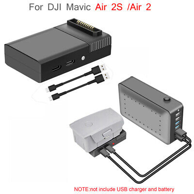 AU32.58 • Buy For DJI Mavic Air 2S /Air 2 Drone USB Charger Battery QC3.0 Fast Charging Cable
