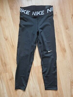 £4.99 • Buy Nike Xs Black Capri Workout Running Leggins Size Xs Brand New With Tags