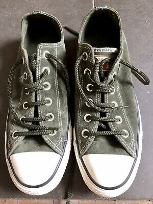 £10 • Buy Converse All Star Green Suede Size 7