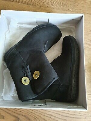 £29.99 • Buy Womens Clarks Inside Wool Leather Boots Size Uk 7 D New