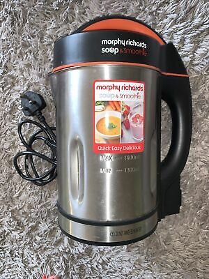 £30 • Buy Morphy Richards Soup And Smoothie Maker Used Once