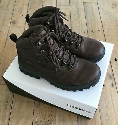 £90 • Buy Brasher Men's Country Master Brown Boots - Hiking / Walking - Size 8 - Worn Once