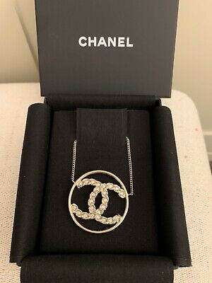 £370 • Buy Brand New Chanel CC Crystal Necklace