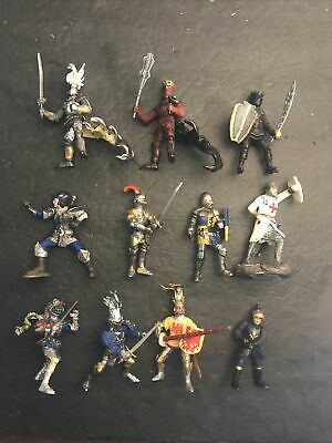£8.37 • Buy Simba, Papo, Schlech Medieval Knights PVC Action Figure Lot Of 11