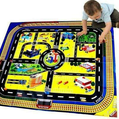 £2.99 • Buy Giant City Road Playmat Kids Childrens Childs Toy Car Brand New Floor Track
