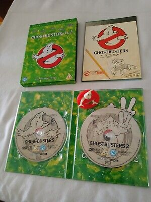 £0.99 • Buy Ghostbusters 1 & 2 (2-Disc DVD, 2005) And Ghostbusters Figure