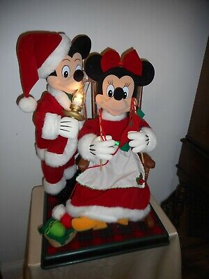 £80.17 • Buy 1997 Telco Animated, Musical & Illuminated Mickey & Minnie Mouse Rocking Chair!