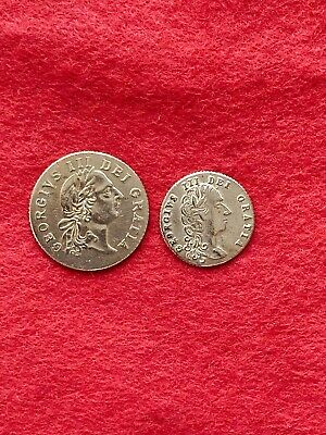 £18 • Buy Metal Detecting Find A Gold Guinea Token And Half Gold Guinea Token