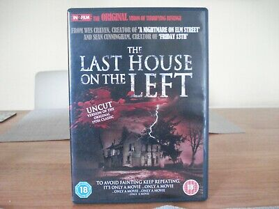 £1.50 • Buy The Last House On The Left Dvd Disc
