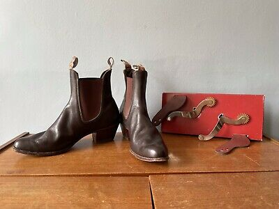 £150 • Buy RM Williams Boots Size 9 1/2 H Barely Worn With Stirrups