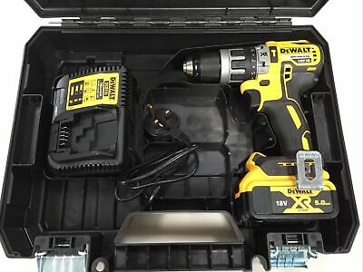 £119.99 • Buy DeWalt DCD796P1 18v Brushless Combi Drill With 5Ah Battery DCB115 Charger & Case