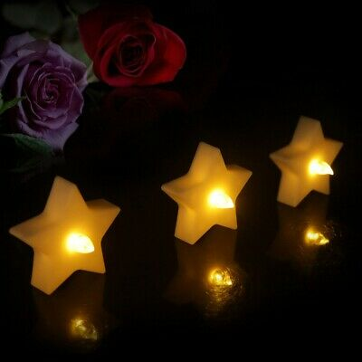 £11.07 • Buy 12PCS Star Electronic Candles Birthday Candle Lamp For Home Store