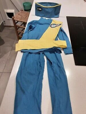 £8 • Buy ORIGINAL THUNDERBIRDS Costume Age 4, 1992 Vintage With Sash And Hat