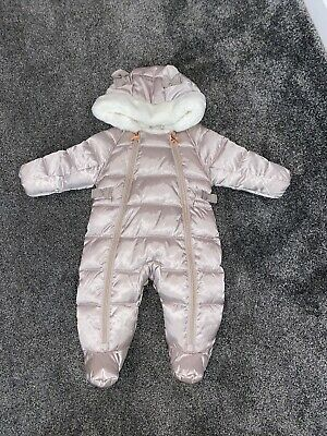 £15 • Buy Ted Baker Pramsuit Baby Girls - Age 0-3 Months
