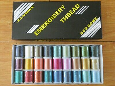 £71.17 • Buy Janome  Embroidery Thread Assortment Set #2  Acryl (Made In Japan)