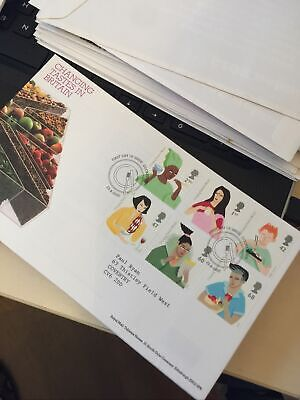 £2.50 • Buy GB Stamps First Day Cover 2005 Changing Tastes BritainCookstown PMK FDC WCP