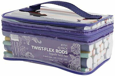 AU20.03 • Buy Diane Twist-Flex Rods – Pack Of 42 Assorted Hair Rollers For Women And Girls...