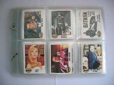 £20 • Buy Topps Chewing Gum - Batman - Complete Set Of 132 Cards - 1989 - Good Condition.