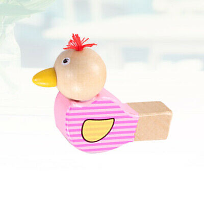 £7.97 • Buy Wooden Cartoon Bird Whistle Colorful Creative Whistle Musical Toy Early E