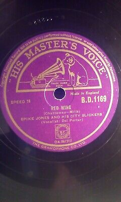 £3.95 • Buy Spike Jones,10 78,red Wing/covered Wagon Rolled Along,hmv(b.d.1169)