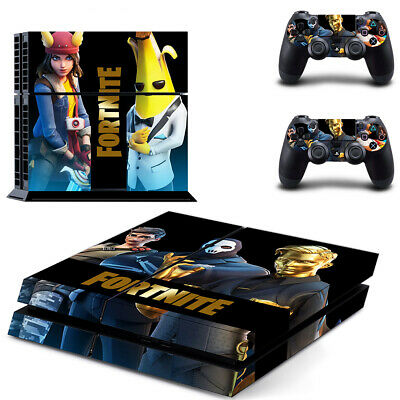 AU14.95 • Buy Playstation 4 PS4 Console Skin Decal Sticker Battle Royale +2 Controller Skin