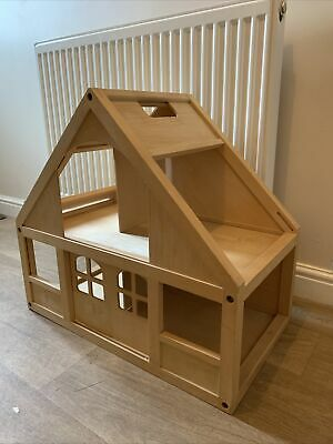 £15 • Buy Large ELC Wooden Dolls House Project Nativity Scene Christmas House