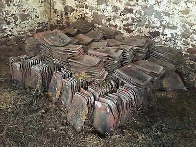 £0.60 • Buy RECLAIMED CLAY PANTILES - 400+ Removed From Old Barn Roof.