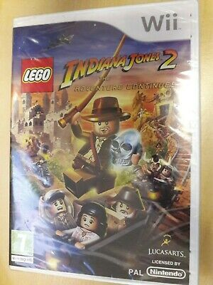 £4.50 • Buy Wii Lego Indiana Jones 2 - The Adventure Continues - PAL - New Shrinkwrapped