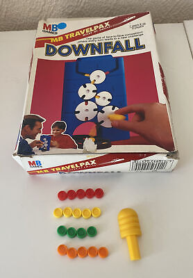 £2.49 • Buy Travel Downfall - MB Games - 1990 - Choose Your Spare Tokens
