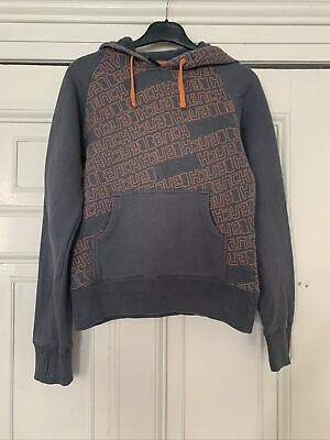 £2.49 • Buy Ladies, Bench Hoodie, Grey And Orange, Size Small