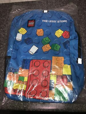£14.54 • Buy Lego Backpack The Lego Store Multi-Color Lego Brick Print Backpack NEW