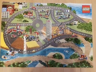 £2 • Buy Lego City The Daily Mirror Road Map Wall Posters From 2009