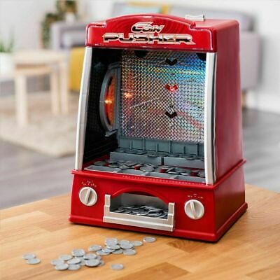 £39.99 • Buy Coin Pusher Machine Arcade Game Novelty Table Top Penny Falls Toy Gift Fun Kids