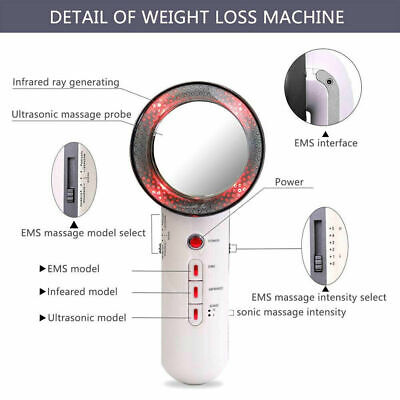 AU31.99 • Buy 3 In 1 Ultrasonic Cavitation Fat Remover Body Massager Face Slimming Machine