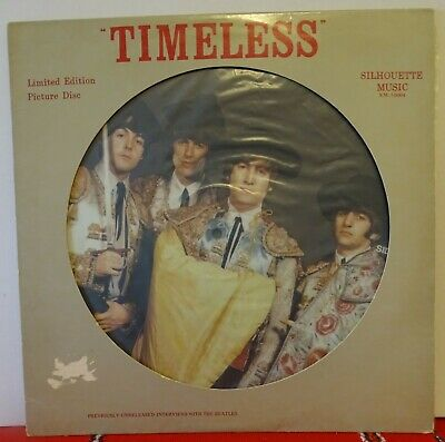 £5 • Buy BEATLES (USA PICTURE DISC) LP. TIMELESS. 1981 SILHOUETTE Label. EXCELLENT.