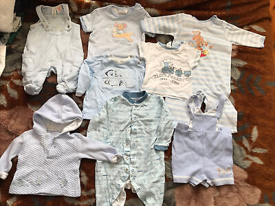 £3.95 • Buy Joblot Baby Boys Clothes 0-12 Months 8 Items Incl Coco, Disney, GAP, M&S, Boots