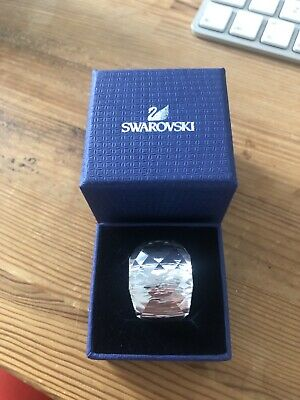 £44.99 • Buy Swarovski Nirvana Clear Crystal Ring Size 58 With Original Box. Worn Only Once.