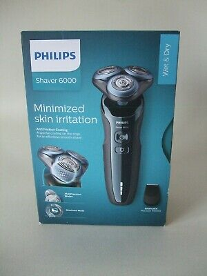 £59.99 • Buy **New** Philips Series 6000 Wet And Dry Electric Shaver - S6630 - Blue/Grey