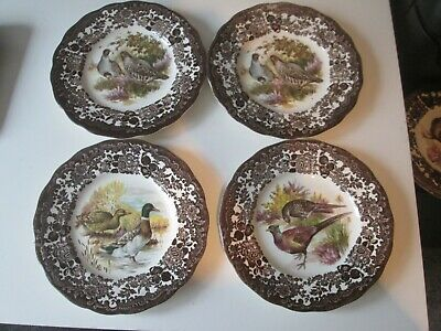 £9.99 • Buy Royal Worcester 4x Palissy Game Series 17cm Side Plates