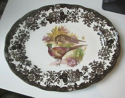 £19.99 • Buy Royal Worcester Palissy Game Series  12  Oval Platter Meat Plate