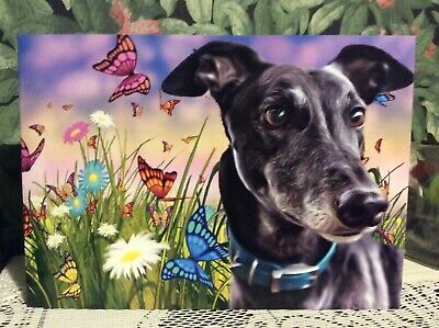 £2.65 • Buy Greyhound , Lurcher, Sighthound , Whippet, Dog Greetings Card