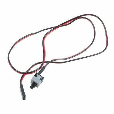 £1.99 • Buy Power Supply Reset Switch Button On/Off Cable Cord Connector PC Computer ** UK