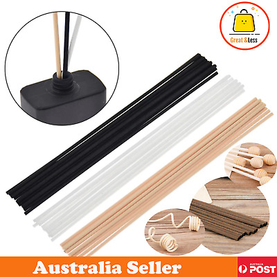 AU2.99 • Buy 4 Colours Premium Reeds Fiber Sticks Aromatherapy Diffusers Home Spa Office Pack