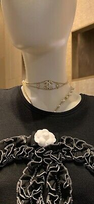 £450 • Buy Chanel Choker Necklace 100% Authentic