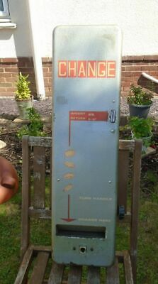 £150 • Buy 1960's Change Vending Machine. Wall Mounted Coin Operated Pre Decimal.