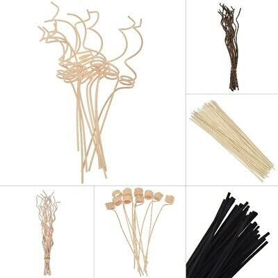 AU5.01 • Buy 5-15 Rattan Reed Diffuser Sticks Fragrance Replacement Aroma Refill Floral Decor